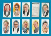 Collectable Tobacco cigarette cards Dance Band Leaders 1936,